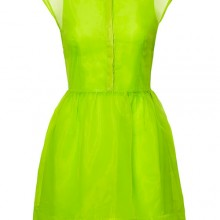 Review: Neon Lime Green Dress from H&M
