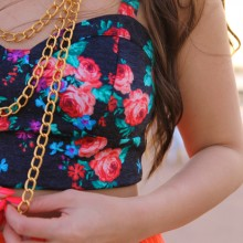 Monee Elizabeth Layered Chain Necklace Giveaway