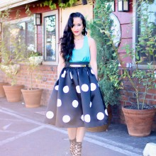 Connect the Dots Midi Skirt & Winner Announced